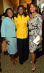 A.J. Harris, Dr. Kathy Flanagan and Bertika Quintero at the Ivy Foundation luncheon and fashion show at the Hilton Americas Hotel downtown Saturday March 01,2008.(Dave Rossman/For the Chronicle)