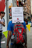"14.06.2014 - UK Uncut presents: ""VodaHome"""