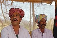 Musiker in Shilpgram bei Udaipur (Rajasthan)