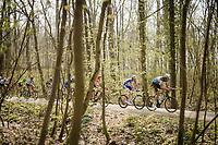 peloton over the Plugstreets<br /> <br /> 81st Gent-Wevelgem 'in Flanders Fields' 2019<br /> One day race (1.UWT) from Deinze to Wevelgem (BEL/251km)<br /> <br /> ©kramon