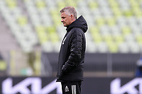 25th May 2021; Gdansk, Poland; Manchester United training at the Stadion Energa Gdańsk prior to their Europa League final versus Villarreal on May 26th;  OLE GUNNAR SOLSKJAER Manchester United manager