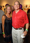 Ann and Michael Wilde at the Luck of the Draw benefit at Diverse Works Wednesday July  01, 2009. (Dave Rossman/ For the Chronicle)