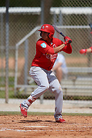 St. Louis Cardinals Rayder Ascanio (28) during a Minor League Spring Training Intrasquad game on March 28, 2019 at the Roger Dean Stadium Complex in Jupiter, Florida.  (Mike Janes/Four Seam Images)