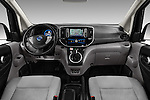 Stock photo of straight dashboard view of 2016 Nissan E-Nv200-Evalia Connect-Edition 5 Door Mini MPV Dashboard