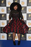 Gbemisola Ikumelo<br /> arriving for the RTS Awards 2019 at the Grosvenor House Hotel, London<br /> <br /> ©Ash Knotek  D3489  19/03/2019