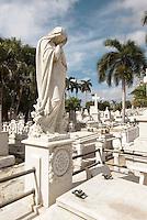 Friedhof Necropolis Santa Ifigenia in Santiago de Cuba, Cuba