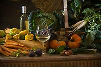 """Europe/France/Ile de France/75008/Paris: Restaurant """"Laurent"""" - Accord mets vins - les légumes"""