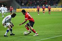 Martin Fenin (Eintracht) gegen Bernd Korzynietz (Bielefeld)<br /> Eintracht Frankfurt vs. Arminia Bielefeld, Commerzbank Arena<br /> *** Local Caption *** Foto ist honorarpflichtig! zzgl. gesetzl. MwSt. Auf Anfrage in hoeherer Qualitaet/Aufloesung. Belegexemplar an: Marc Schueler, Am Ziegelfalltor 4, 64625 Bensheim, Tel. +49 (0) 6251 86 96 134, www.gameday-mediaservices.de. Email: marc.schueler@gameday-mediaservices.de, Bankverbindung: Volksbank Bergstrasse, Kto.: 151297, BLZ: 50960101