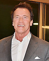 Actor Arnold Schwarzenegger arrives in Japan