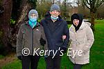 Lucy, Stanley and JoJo Wade enjoying a stroll in Muckross Gardens on Saturday.