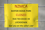 NELSON, NEW ZEALAND - APRIL 10: Covid 19 Lockdown. Friday 10 April 2020. Nelson,New Zealand. (Photo by Barry Whitnall/Shuttersport Limited)