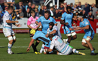 Action during the Greene King IPA Championship match between Bedford Blues and London Scottish Football Club at Goldington Road, Bedford, England on 29 September 2018. Photo by Harry Hubbard.