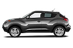 Driver Side Profile View 2011 Nissan Juke SV SUV Stock Photo