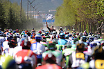 The start of Stage 5 of the 2015 Presidential Tour of Turkey running 159.9km from Mugla to Pamukkale. 30th April 2015.<br /> Photo: Tour of Turkey/Mario Stiehl/www.newsfile.ie