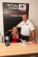 Mark and Amanda Furber of Virtual Aerospace, Northampton