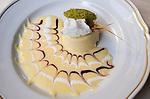 Interior, Dessert, Relais Le Jardin Restaurant, Florence, Tuscany, Italy