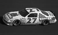 Rusty Wallace in action in the Atlanta Journal 500 at Atlanta International Raceway in Hampton, GA, November 1988.  (Photo by Brian Cleary/www.bcpix.com)