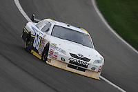 Feb 22, 2009; Fontana, CA, USA; NASCAR Sprint Cup Series driver Dave Blaney during the Auto Club 500 at Auto Club Speedway. Mandatory Credit: Mark J. Rebilas-