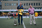 Legend of the Tournament ceremony as part of the GFI HKFC Rugby Tens 2017 on 06 April 2017 in Hong Kong Football Club, Hong Kong, China. Photo by Marcio Rodrigo Machado / Power Sport Images