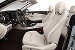 Front seat view of a 2018 Mercedes Benz E Class E400 2 Door Convertible front seat car photos