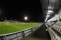 General view of the ground during Arsenal Under-23 vs Sunderland AFC Under-23, Premier League 2 Football at Meadow Park on 28th October 2016