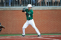 Hunter Jones (33) of the Charlotte 49ers at bat against the Marshall Thundering Herd at Hayes Stadium on April 23, 2016 in Charlotte, North Carolina. The Thundering Herd defeated the 49ers 10-5.  (Brian Westerholt/Four Seam Images)