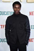 "Kedar Williams-Stirling<br /> arriving for the ""Sex Education"" season 2 launch at Genesis Cinema Mile End Road, London.<br /> <br /> ©Ash Knotek  D3547 08/01/2020"