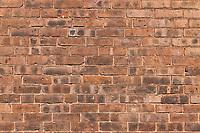 Brick wall detail.