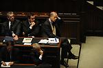 CORRADO PASSERA, FRANCESCO PROFUMO E GIAMPAOLO DI PAOLA<br /> PARLAMENTO 2012