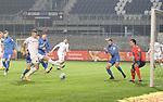 Aleksandr Zhirov (Nr.2, SV Sandhausen) mit iner Chance  beim Spiel in der 2. Bundesliga, SV Sandhausen - 1. FC Heidenheim.<br /> <br /> Foto © PIX-Sportfotos *** Foto ist honorarpflichtig! *** Auf Anfrage in hoeherer Qualitaet/Aufloesung. Belegexemplar erbeten. Veroeffentlichung ausschliesslich fuer journalistisch-publizistische Zwecke. For editorial use only. For editorial use only. DFL regulations prohibit any use of photographs as image sequences and/or quasi-video.