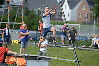 FIERLJEPPEN: LINSCHOTEN: 07-07-2018, Tweekamp Holland-Friesland, Holland wint, ©foto Martin de Jong
