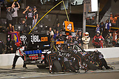 NASCAR Camping World Truck Series <br /> Lucas Oil 150<br /> Phoenix Raceway, Avondale, AZ USA<br /> Friday 10 November 2017<br /> Christopher Bell, Toyota Toyota Tundra makes a pit stop, Sunoco<br /> World Copyright: Logan Whitton<br /> LAT Images