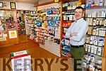 James O'Donoghue at O'Donoghue's Pharmacy on Friday morning.