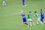 during the Hong Kong FA Cup final between Kitchee and Wofoo Tai Po at the Hong Kong Stadium on May 26, 2018 in Hong Kong, Hong Kong. Photo by Marcio Rodrigo Machado / Power Sport Images