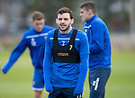 St Johnstone Training…25.10.19<br />A cold looking Drey Wright pictured during training this morning at McDiarmid Park ahead of tomorrows game against Hamilton Accies.<br />Picture by Graeme Hart.<br />Copyright Perthshire Picture Agency<br />Tel: 01738 623350  Mobile: 07990 594431