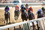June 07, 2014: Tonalist with Joel Rosario defeats Commissioner and Javier Castellano to win the Belmont Stakes ending California Chrome's bid at a Triple Crown at Belmont Park in Elmont New York. Alex Evers/ESW/CSM