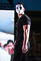 MIRAMAR, FL - AUGUST 28: A model walks the stage at the Yoel Fashion show during Yotuel En Concierto at Miramar Regional Park Amphitheater on August 28, 2021 in Miramar, Florida.  ( Photo by Johnny Louis / jlnphotography.com )