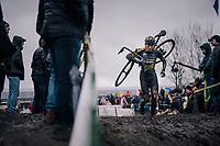 Corné van Kessel (Ned/Telenet Fidea Lions)<br /> <br /> Superprestige cyclocross Hoogstraten 2019 (BEL)<br /> Elite Men's Race<br /> <br /> ©kramon