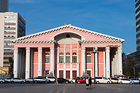 Mongolia, Ulaanbaatar. Mongolian Theatre Museum.