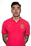 Zhao Xuri of Guangzhou Evergrande poses for the official photo prior to the Guangzhou Evergrande vs Gamba Osaka match as part the AFC Champions League 2015 Semi Final 1st Leg match on September 29, 2015 at  Tianhe Sport Center in Guangzhou, China. Photo by Aitor Alcalde / Power Sport Images