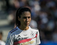 GRENOBLE, FRANCE - JUNE 22: Sara Doorsoun #23 of the German National Team during a game between Panama and Guyana at Stade des Alpes on June 22, 2019 in Grenoble, France.