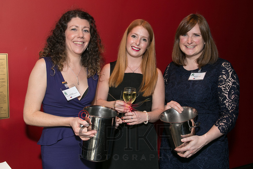 Pictured from left are Finola Brady of Finola Brady Architectural Services, Charlotte Moreland of Training for Business and Kate Tyler of Shake Social