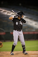AZL White Sox Ramon Beltre (6) at bat against the AZL Angels on August 14, 2017 at Diablo Stadium in Tempe, Arizona. AZL Angels defeated the AZL White Sox 3-2. (Zachary Lucy/Four Seam Images)