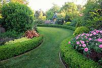 Backyard garden and lawn.  CREDIT: FREELAND TANNER