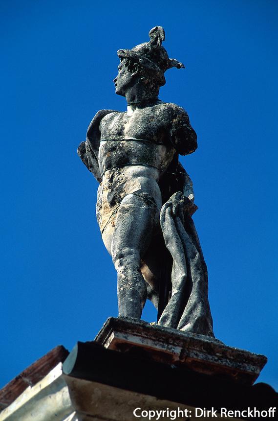 Italien, Venetien-Friaul, Vicenza, Villa Rotonda erbaut von Andrea Palladio, Unesco-Weltkulturerbe