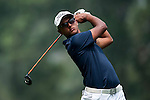 Viraaj Ganapathy Madappa in action during the 9th Faldo Series Asia Grand Final 2014 golf tournament on March 19, 2015 at Faldo course in Mid Valley clubhouse in Shenzhen, China. Photo by Xaume Olleros / Power Sport Images