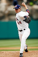 Jake Peavy of the USA during the World Baseball Championships at Angel Stadium in Anaheim,California on March 12, 2006. Photo by Larry Goren/Four Seam Images