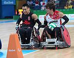 Ian Chan, Rio 2016 - Wheelchair Rugby // Rugby En Fauteuil roulant.<br /> Canada vs Japan in the Wheelchair Rugby bronze medal final // Le Canada contre le Japon dans la finale pour la médaille de bronze du rugby en fauteuil roulant. 18/09/2016.