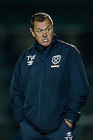 Terry Westley (Academy Director) of West Ham United during the The Checkatrade Trophy match between Wycombe Wanderers and West Ham United U21 at Adams Park, High Wycombe, England on 4 October 2016. Photo by David Horn.
