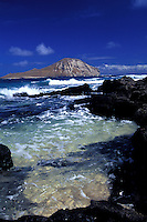 Rabbit Island off in the distance, Island of Oahu